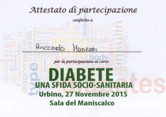 2015 - 11 - 27 Diabete, una sfida socio-sanitaria  copia